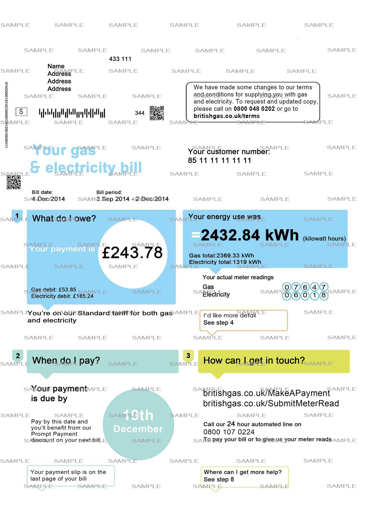 Electricity: www electricity bill.